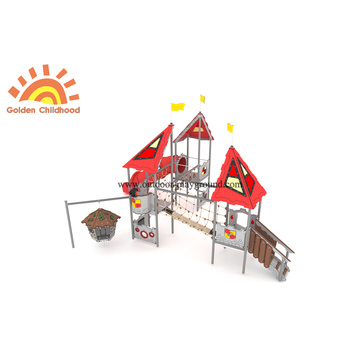 Outdoor Swing Tube Slide Structure For Kids
