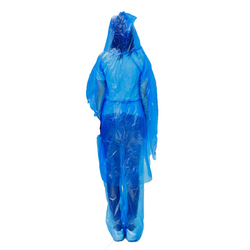 Disposable Coverall Plastic Protection Suit