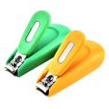 Wholesale carton Fashion creative baby safe nail clippers with magnifier