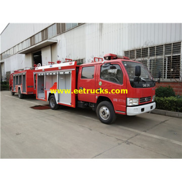 Dongfeng 6 CBM Airport Fire Trucks