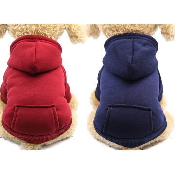 2 Pieces Winter Dog Hoodie
