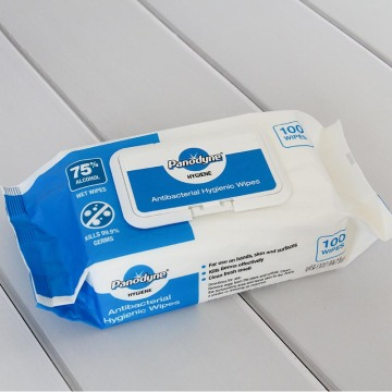Antibacterial Wipes with Bags for Muti-purpose