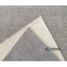 Herringbone Woolen Fabric For Winter Coats