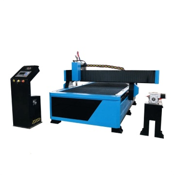 Mild steel portable cnc plasma cutting machine factory made with rotary device