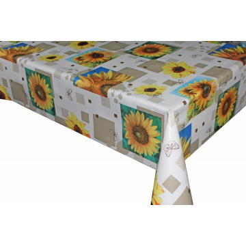 Pvc Printed fitted table covers and Runners