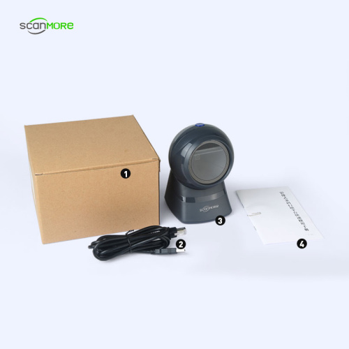 Best desk flatbed wired 2d image barcode scanners