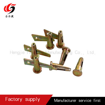 Stub pin and wedge concrete forming factory