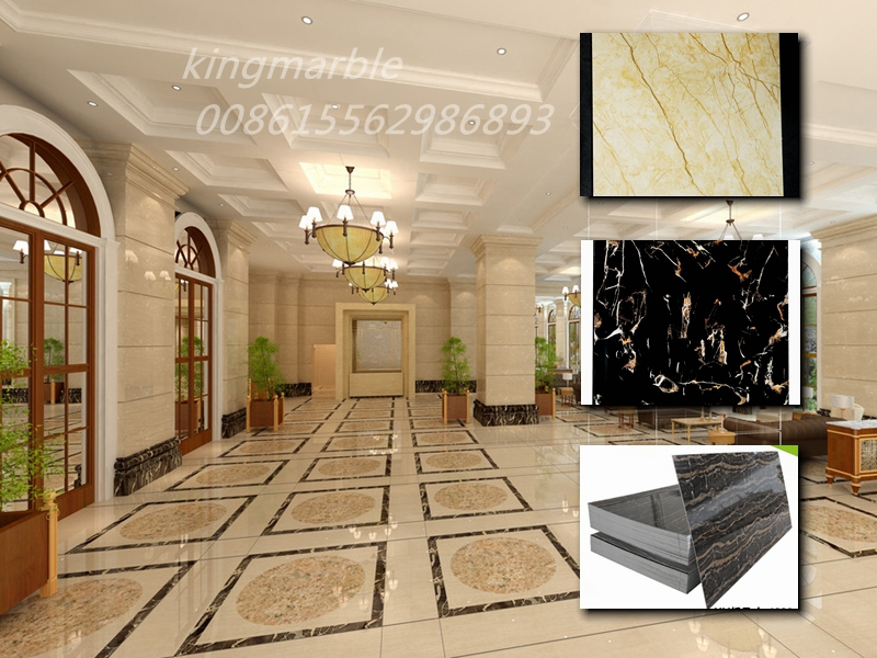 artificial Interior Marble Pvc Sheets