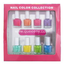 8 bottles of Nail Polish Fruit flavor