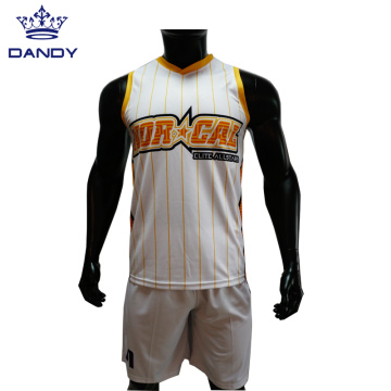 Sublimation Basketball Singlets Singles