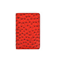 Promotional Travel Document  Ostrich Leather Passport Holder