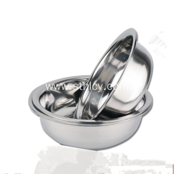 Stainless Steel Soup Basin Fruit Bowl For Kitchen