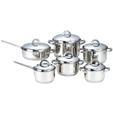 Cookware Set with 7-Layer Capsulated Bottom