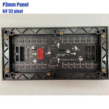 P3 Pixel led Panels Digital Led Module Indoor Led Display Screen Full Color RGB Matrix 192X96mm