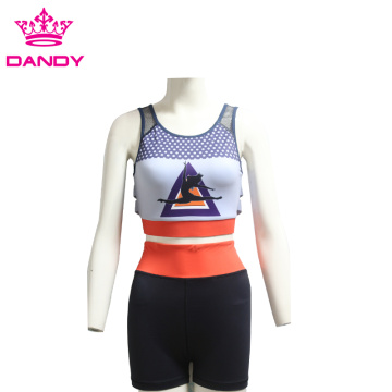 Fitness sublimated yoga bra