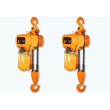 500kgs electric chain hoist with manual trolley