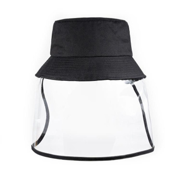 Prevent droplets faceshield mask protective bucket hat