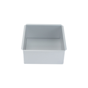 Aluminium Alloy 7 Inch Square Baking Mold