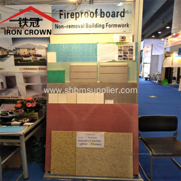 No-Formaldehyde Moistureproof Fireproof 12mm MgO Boards