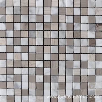 Marble Stone Mosaic 8mm Thickness