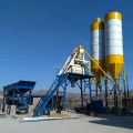HZS35 mini stationary type concrete batching plant price