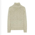 Seamless Whole Garment Sweater Wool Turtleneck