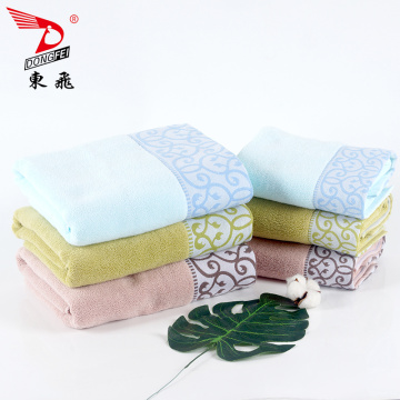 most commonly used weave gauze satin bath towel