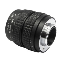 35mm F/1.7 Movie Lens C-Mount Lens Prime Lens with Adapter Ring for Canon EOSM / M2 / M3