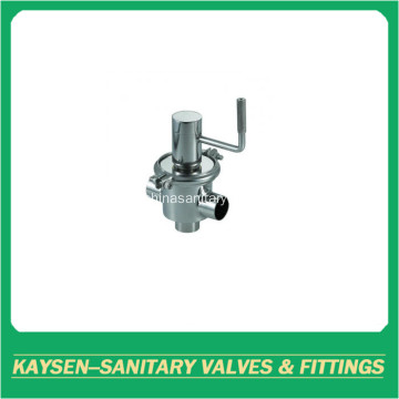 Sanitary Line-type 30T way shut off divert valve