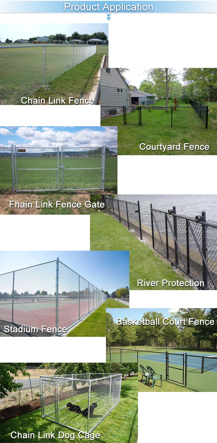 chain link fence applications