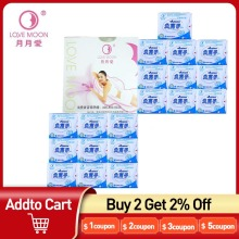 19Pack Love Moon Anion Sanitary Pads Feminine Fygiene Product 100% Cotton Anion Pads Winalite Anion Love Moon Strip Panty Liner