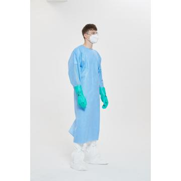 Non-woven Fabric Disposable Isolation Gown
