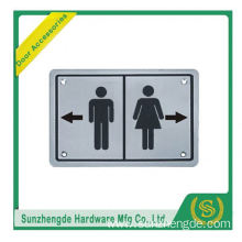 BTB SSP-014SS Stainless Steel Knob Wheelchair Logo Fire Door Sign