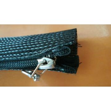 Expandable Braided Zipper Sleeving