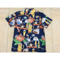 2020 New design Polyester printing hawaii shirt