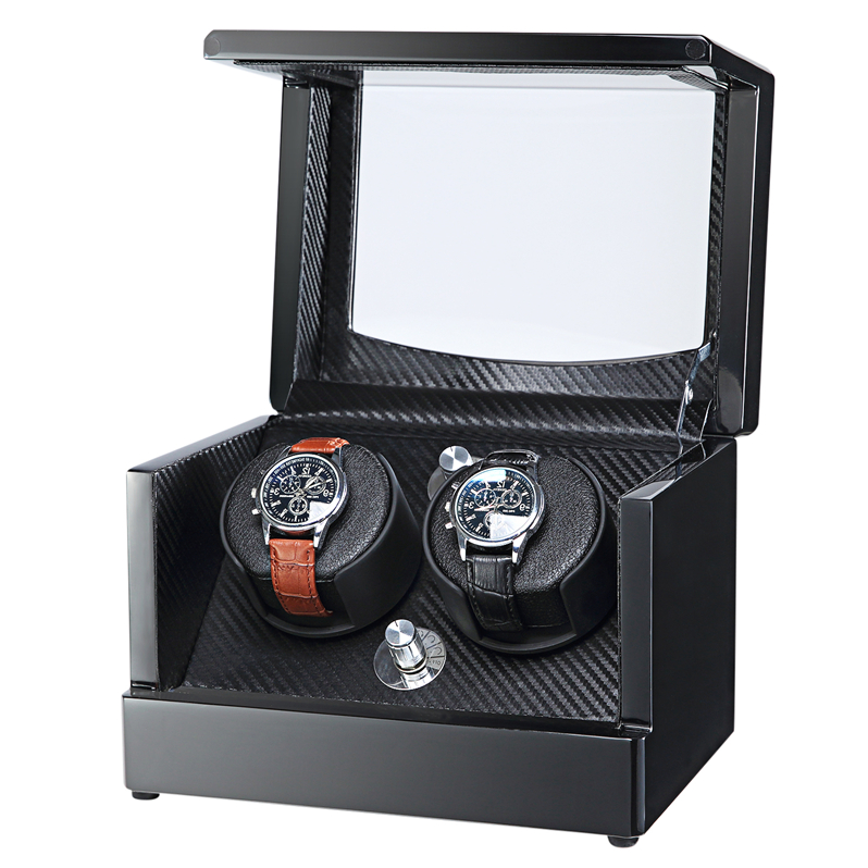 wall safe watch winder for 2 watches WW-8114