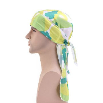 Polyester chemo cheap hair accessories turban headwrap