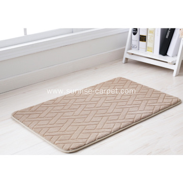 Polyester Flannel Carpet Bathmat