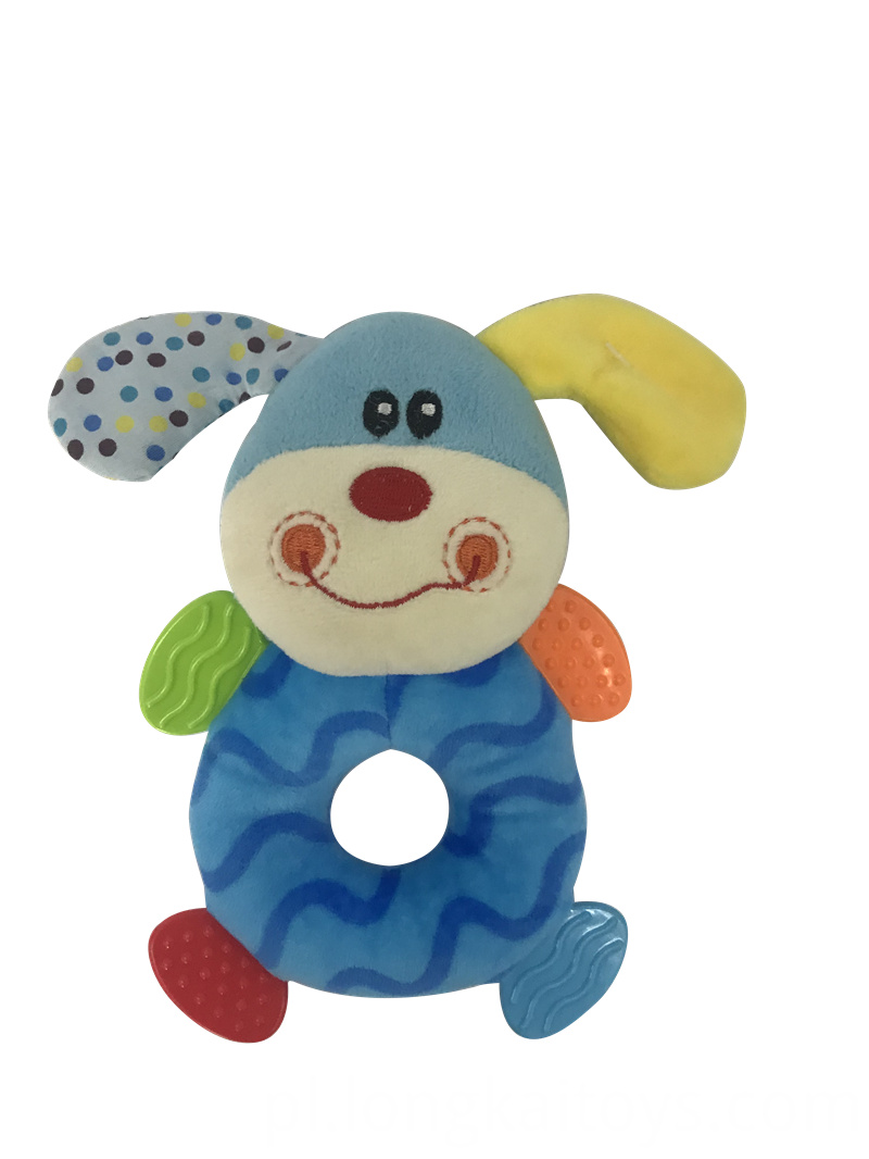 Plush Rattle Toy For Baby