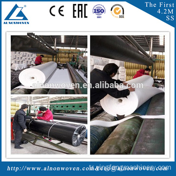 Non-woven needle punched Geotextile Production Line/non woven fabric making machine/nonwoven need
