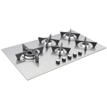 Gas Burner Cooktop 5 Rings