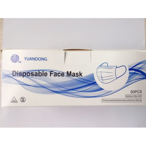 High-Quality 3 Ply Earloop Face Mask Cheap Price