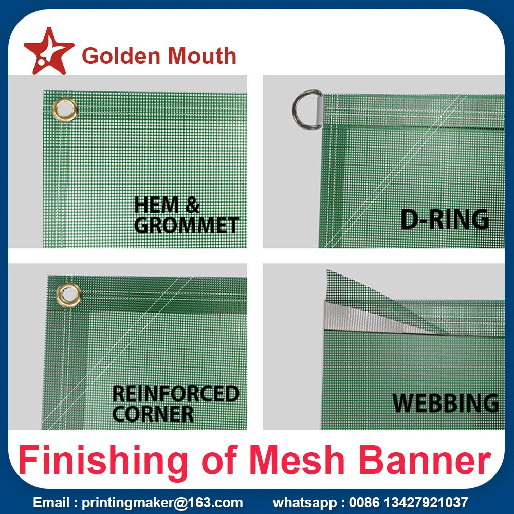 fence screen mesh banner