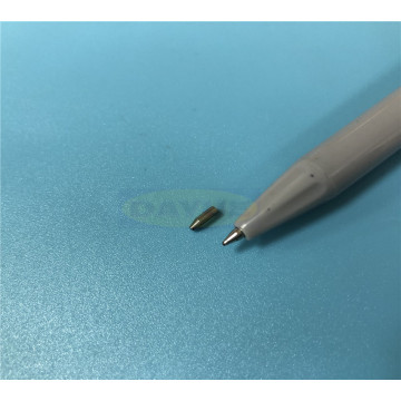 Micro-manufacturing tungsten carbide nozzles for medical
