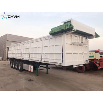 CHVM Side Rear Dump Tipper Semi Trailer