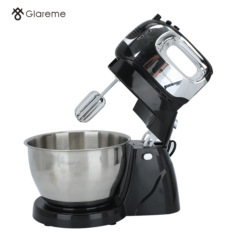 Commercial food mixer in restaurant kitchen