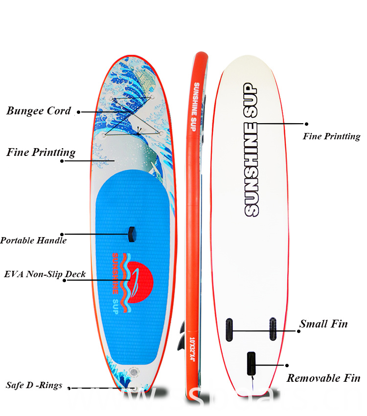 Printting Pattern Sup Board
