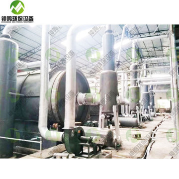 Waste Tyre Recycling Oil Plant for Sale in India