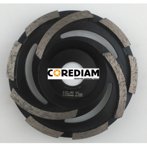 D115 Cyclone Grinding Cup Wheel