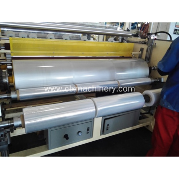 Plastic LLDPE Film Machinery High Speed Model